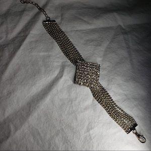 White Gold Vintage Bracelet